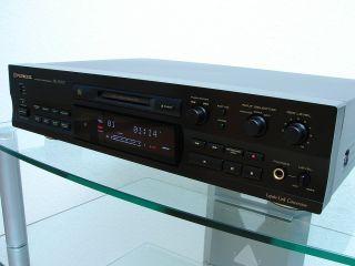 Pioneer MJ D707 High End Mini Disc Recorder in schwarz