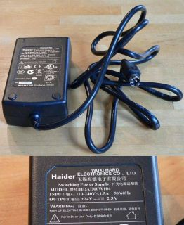 Wuxi Hard 24V Haider Switching Power Supply HDAD60W104   NEU