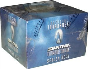 Star Trek CCG Sealed Deck *wie neu*