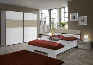 TOP* Design Schlafzimmer Kleiderschrank Schwebetüren Futonbett in