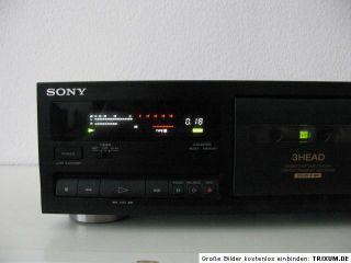 Sony TC K 711S Stereo Cassette Deck Super Einwandfrei und Hochwewrtig