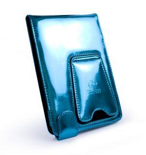 Tuff Luv Bliss Glanzleder Tasche für / Kobo Touch / Glo (Flip Stil
