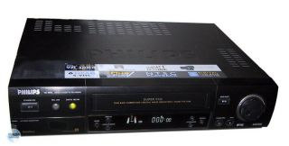 PHILIPS VR 1000 / 02 S VHS Video Recorder (1A USED) EU SHOP svhs