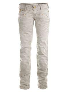 Freeman T. Porter Jeans Hose Alexa Stretch Cotton Drill Stonebeige Gr
