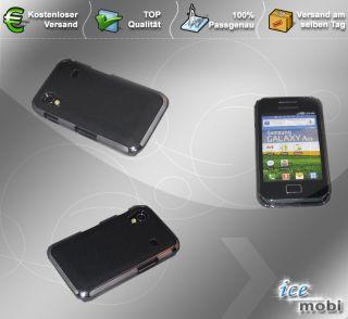 Hard Case Tasche Hülle Cover für Samsung Galaxy Ace S5830 Schwarz