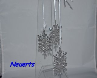 Swarovski Crystal Pixel Snowflake Ornament (3er Set) 1135179