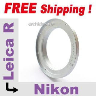 Leica R Adapter an Nikon D700 D300 D200 etc infinity OK