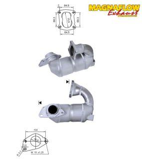 Katalysator Renault Kangoo 1.5TD DCI 1461ccm 44kW 60PS