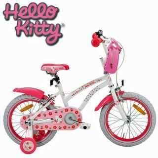 Fahrrad HELLO KITTY 14 CHERRY weiss Kinderfahrrad Kinder Fahrrad