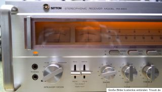 Setton Stereophonic Monster Receiver Model RS 660 RS 660