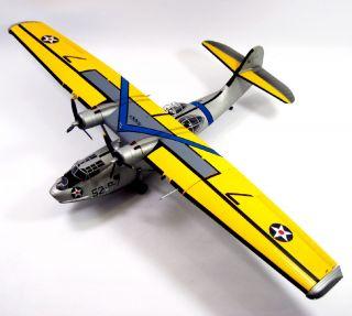 PBY  5 CATALINA US NAVY VP 52 1941~148 FRANKLIN MINT B11E735