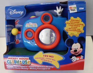 IMC Mickeys Kamera Micky Maus Clubhouse Spielzeug Fotoapparat ab 18