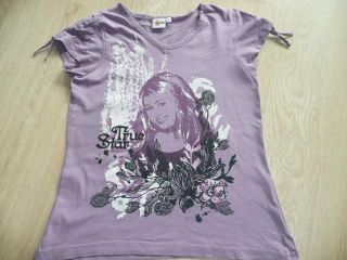 Mädchen Shirts, T Shirts, Hannah Montana Gr. 128/134/140
