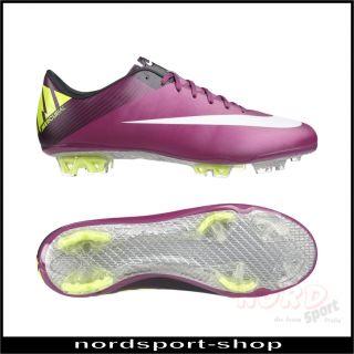 Nike Mercurial Vapor VII FG Fußballschuh Herren Gr 45,5   441976 547
