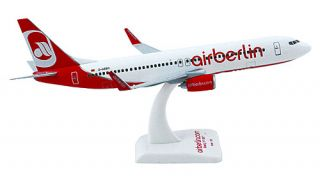 FlugzeugModell   Air Berlin   Boeing 737 800   1:200   PremiumModell