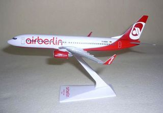 Air Berlin Boeing 737 800 1:200 FlugzeugModell NEU B737