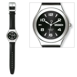 FEATURE STEEL NEU Swatch Uhr Irony Big   YGS737