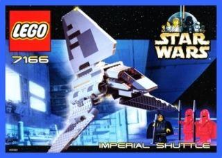 LEGO BAUANLEITUNG 7166 Star Wars / Imperial Shuttle 754