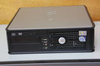 Rechner PC Compuer Dell Optiplex 755 Core 2 Duo E6550 2x 2,33 GHz 2GB