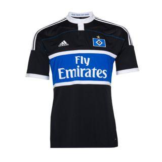 ADIDAS Trikot AWAY HSV Hamburger SV / schwarz blau / Erwachsene / Gr