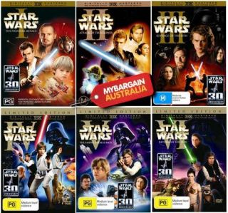 STAR WARSEpisode 1 2 3 4 5 6TrilogyNEW DVD12 Disc