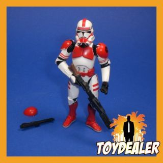 TROOPER SHOCK EPISODE 3 ROTS FIGUR STAR WARS MINT LOOSE 100 HASBRO 766