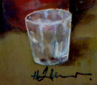 Holländ. Maler H. Jansen 20. Jh  Moderne Kunst