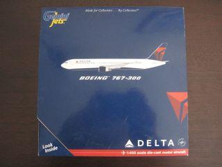 Gemini Jets Delta B767 300 & Dragon Wings Delta B767 400ER 1400