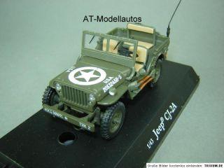 Willys MB Jeep CJ 2A US Army WWII 143 Neu in OVP