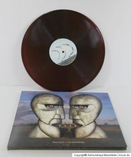LP Pink Floyd   The Division Bell Sony Columbia 1994 US braunes Vinyl
