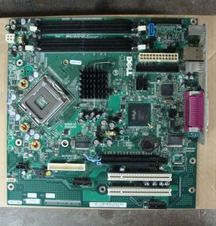 Dell Foxconn LS 36 PGA 775 CPU Motherboard Top IO Elo
