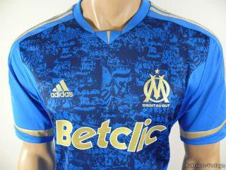Olympique Marseille Trikot 2011 12 Gr.XL blau