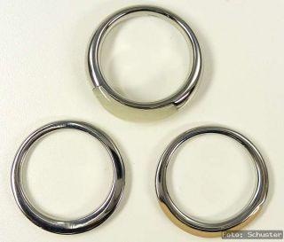 FOSSIL Damen Ring NEU Gr 170 17 mm 3 Teile Set Zirkonia JF85731