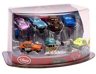 Disney Pixar Cars 2 Auto Deluxe Set mit 7 Fahrzeugen NEU