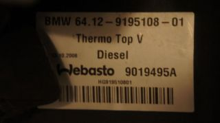 Standheizung Diesel Webasto BMW 9242141 E90 E91 E92 E93 LCI 316d 320d