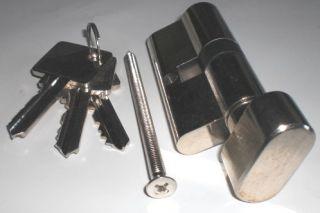 Knaufzylinder mit Anbohrschutz Zylinder Schloss