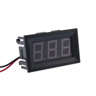 New Mini Digital Voltmeter 4.5 30V Red LED Vehicles Motor Voltage