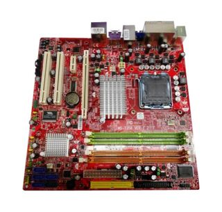Selected MSI motherboard by MS-number