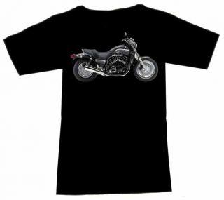 Shirt mit Biker Motiv Yamaha VMX 1200 V Max VMax 1999