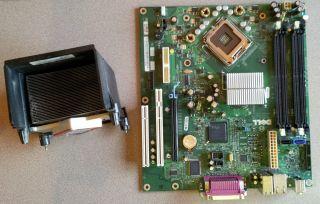 Dell Foxconn LS 36 Rev A04 LGA775 Pentium Motherboard