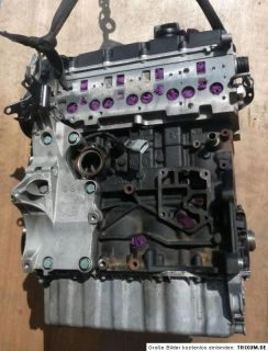 VW 2,0 TDI MOTOR __ BKD __ Ohne Anbauteile _ Golf Touran Jetta A3 Leon