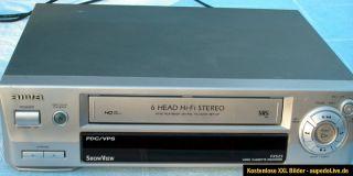 6K.Top HiFi Stereo Video Recorder Aiwa FX 525 m. Fernbed. u. Anl. VHS