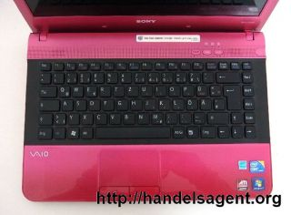 Sony Vaio pink VPCEA1S1E Notebook Laptop Computer tragbar Webcam 500