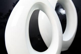 Bodenvase Design Vase BIG LOUNGE weiss 71cm NEU