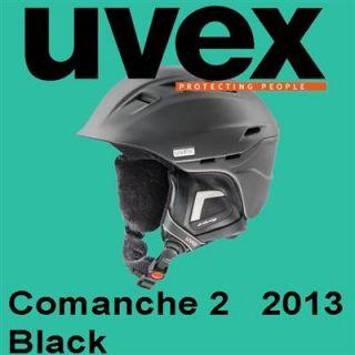 Uvex Skihelm Comanche 2 white green black blue Modell 2013