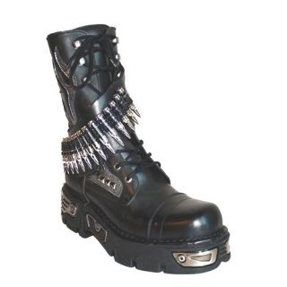New Rock Boots Bullets Mad Max Streetfighter Gothic 45 letztes Paar