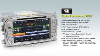 ES789GE 7 HD Touchscreen Autoradio GPS Navigation iPod FORD FOCUS