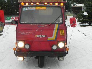 Piaggio Ape Ferrari Pritsche mit original italienischem Charme Kult