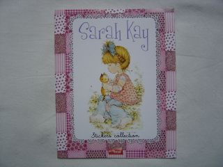 Sarah Kay Sticker Album Edibas Leer Neu