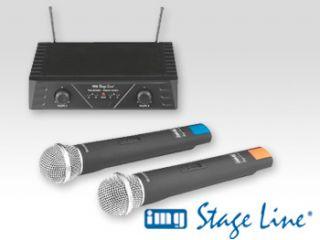 IMG STAGE LINE TXS 812 SET UHF   FUNKMIKROFONANLAGE